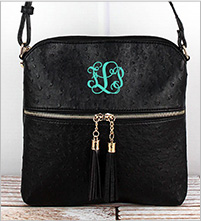 Embroidered Handbags and wallets